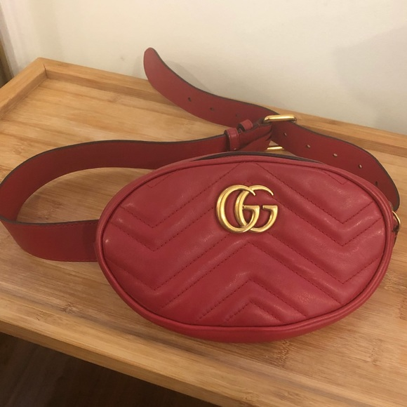 86c928214c2c Gucci Bags | Gg Marmont Matelass Leather Belt Bag Fanny Pack | Poshmark